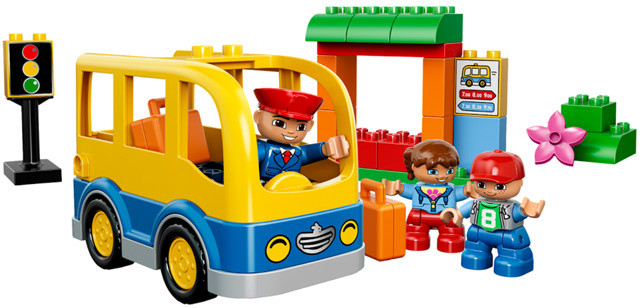Duplo 10528 schoolbus