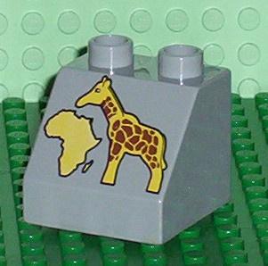 Lego Duplo dierentuin blokje Giraffe