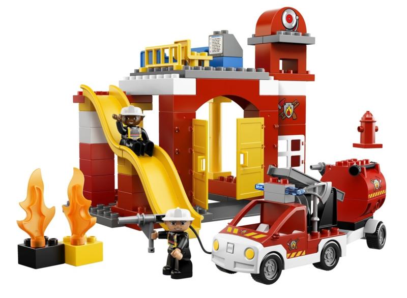 Duplo brandweerkazerne 6168 met doos