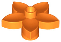 Bloemetje Oranje
