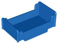 Duplo bed blauw