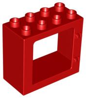 Raam frame rood