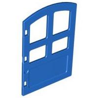Duplo deur met ronde bovenkant - blauw