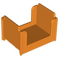 Oranje bed