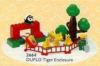 Lego Duplo tijger verblijf 2664