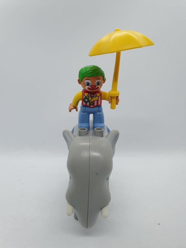 Duplo paraplu geel
