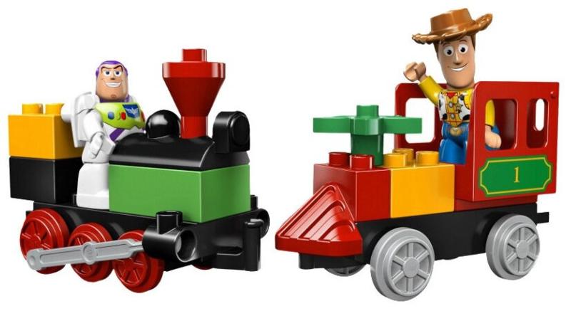 LEGO Duplo Ville Toy story 3 - De Grote Treinjacht - 5659 met doos