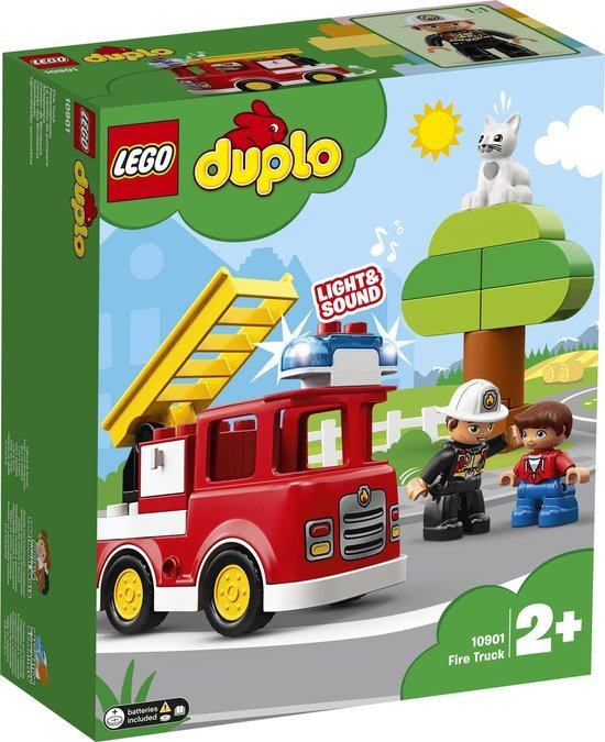 LEGO DUPLO Brandweertruck - 10901 met doos