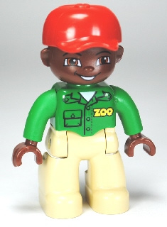 Nigel dierentuin medewerker