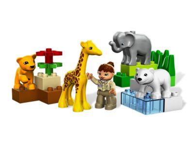 Duplo baby dierentuin 4962