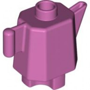 Duplo koffie of theepot roze