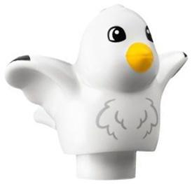 Duplo zeemeeuw - vogel wit