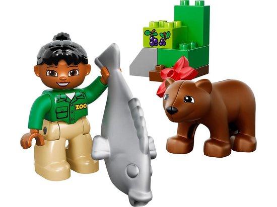Lego Duplo dierenverzorger beer en vis 10576