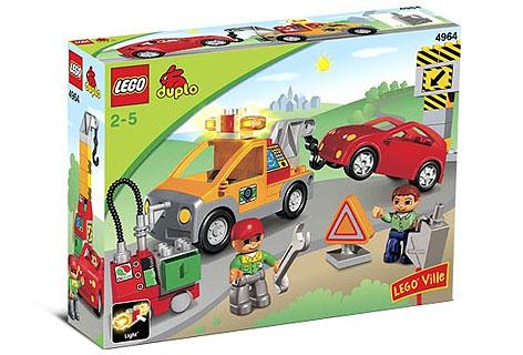 Lego Duplo pechhulp 4964 met doos