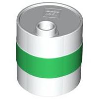 Duplo olie container