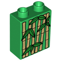 Lego Duplo dierentuin blokje bamboo