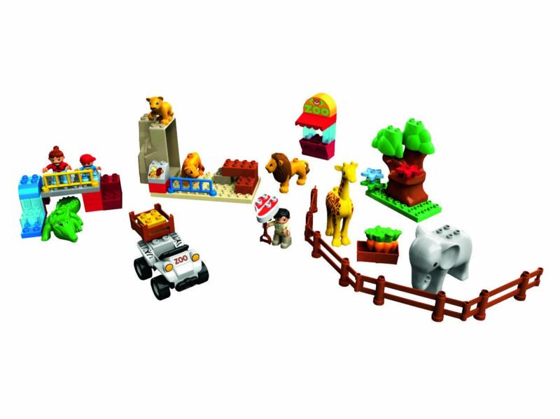 Lego Duplo 5634 voedertijd in de dierentuin