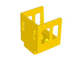 Duplo stoomtrein cabine geel