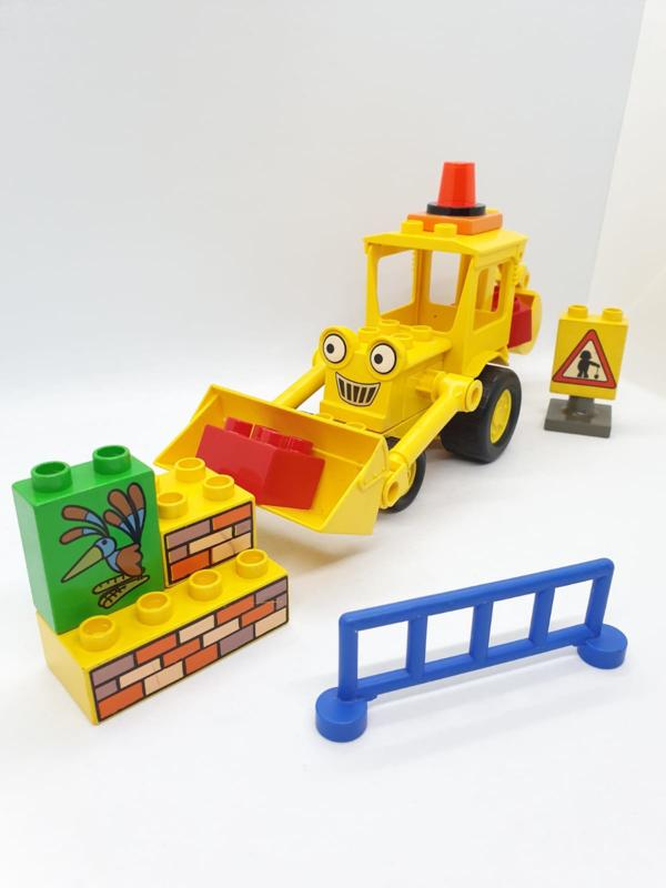 Lego Duplo 3272 Bob de Bouwer - Scoop op de weg