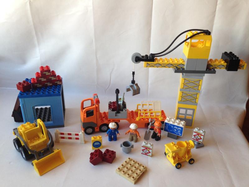 Lego Duplo grote bouwplaats 4988