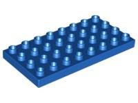 Duplo bouwplaat 4x8 blauw