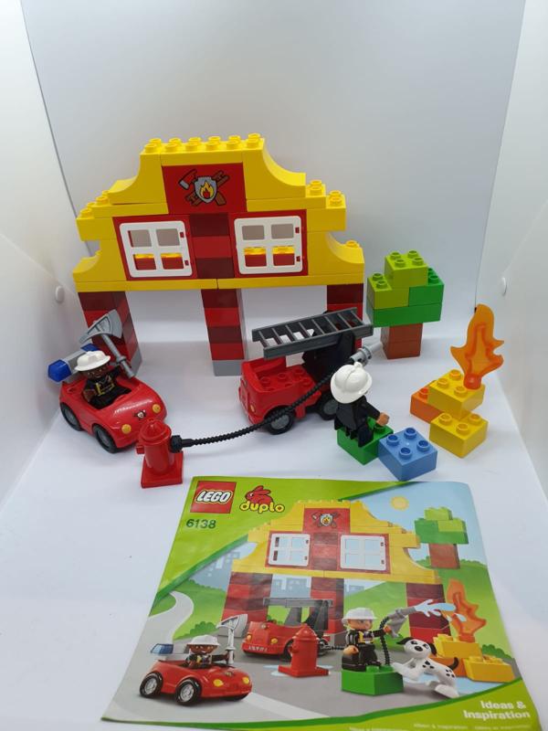 Duplo mijn eerste brandweerkazerne 6138