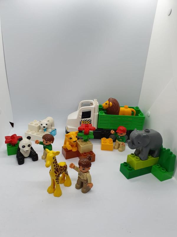 Duplo dierentuin super pack 66430