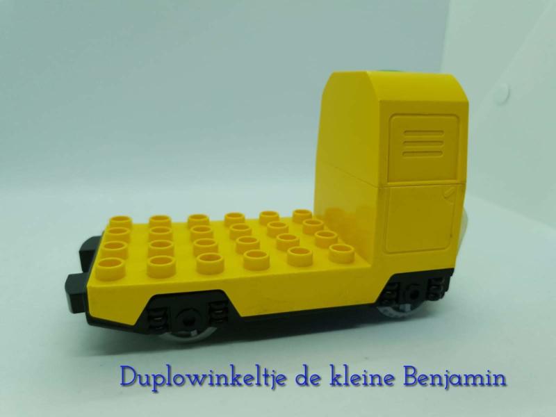 Lego Duplo trein - losse locomotief
