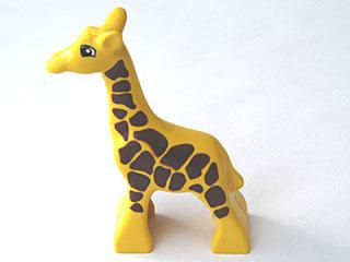 Duplo eerste baby Giraffe