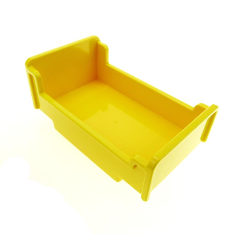 Duplo onderdelen : bed,  geel