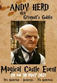 Saturday Autographic:  Andy Herd aka Gringott's Goblin