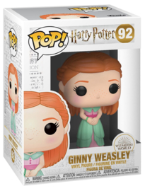Funko Yule Ball Ginny Weasley + Signature ( Bonnie Wright )