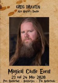 Saturday Autographic: Greg Draven aka Hagrid Double