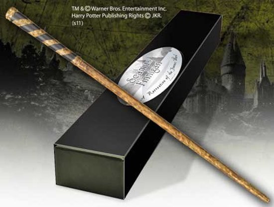 Wand Seamus Finnigan + Signature ( Devon Murray )