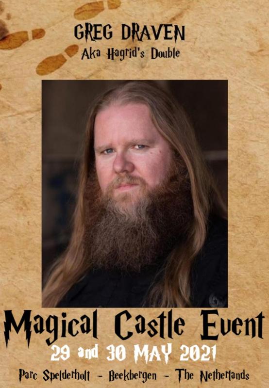 Sunday Autographic: Greg Draven aka Hagrid Double