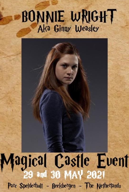 Saturday Autographic:  Bonnie Wright aka Ginny Weasley