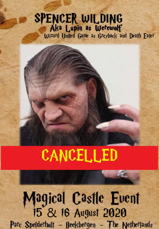 CANCELLED: Spencer Wilding