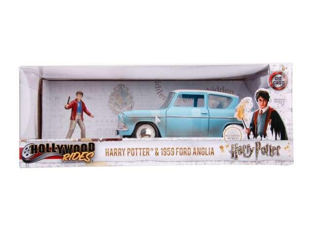 Ford Anglia - Weasley Car - Schaal 1/24