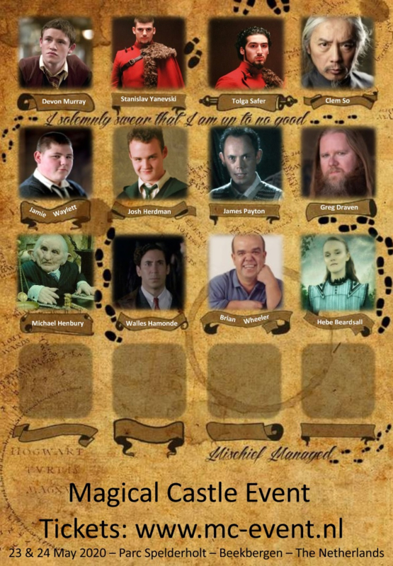 MCE - Poster - Actors Line Up 2020