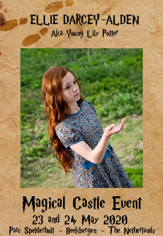 Sunday Autographic:  Ellie Darcey-Alden aka Young Lily Potter
