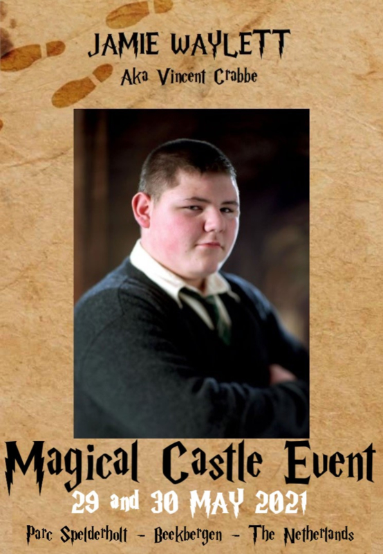 Saturday Autographic: Jamie Waylett aka Vincent Crabbe