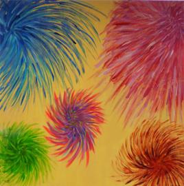 Vuurwerkbloemen
