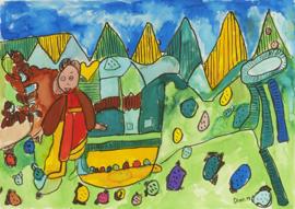 Huis in bergen