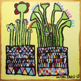 Bloemen en vazen 2