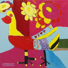Bloemenvogel 2