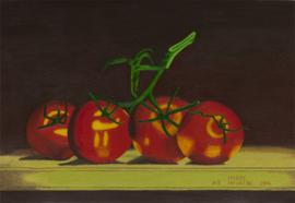 Tomaten op de tafel