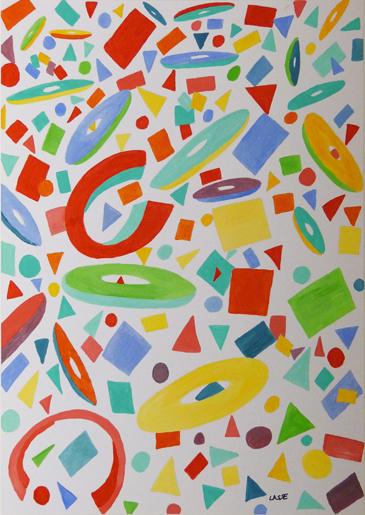 Ongebruikt Verschillende vormen   Abstract   www.bijzondere-kunst.nl BM-12