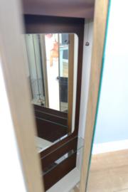 Vintage spiegel kast