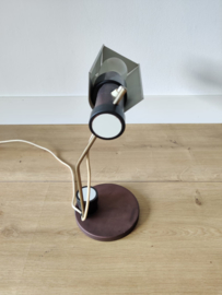 Vintage DDR lamp 1965 door Oskar Immerschied voor Metalldrücker halle