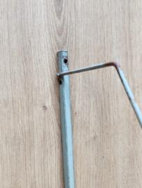 Vintage metalen wand bureau